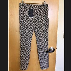 NWT Zara Houndstooth Skinny Pants
